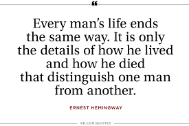 12 inspiring ernest hemingway quotes reader u0027s digest