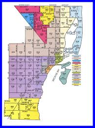 Miami City Map by Zip Code Map Miami Dade Zip Code Map