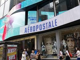 bankrupt aéropostale to shutter times square flagship store