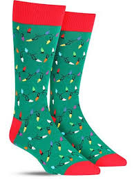 christmas lights cool christmas socks for women