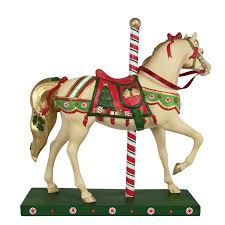 christmas carousel the trail of painted ponies christmas carousel