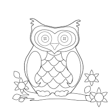 owl coloring pages preschool eson me