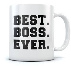 best boss ever coffee mug christmas gift idea for your boss