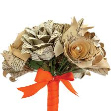 home decoration flowers eco recycled books mixed flowers origami bouquet by the origami