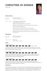 Sample Camp Counselor Resume by Counselor Resume Samples Visualcv Resume Samples Database