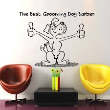 compare prices on dog wall sticker online shopping buy low price dog puppy grooming salon wall sticker pet store dog wall stickers puppy pet shop dog wall