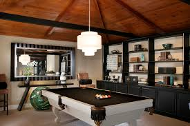 restoration hardware pool table pretty mizerak pool table in family room traditional with video game