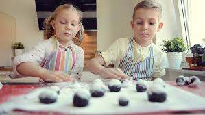 kids making cake in a house stock footage video 5704868 shutterstock