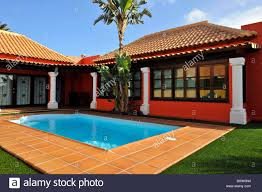holiday resort bungalow villa with pool corralejo fuerteventura