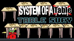 Meme Table - system of a table table suey meme drum cover the8bittable