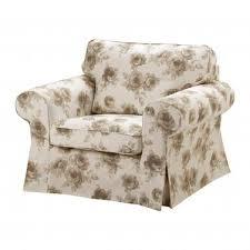 Ikea Ektorp Armchair Cover Ektorp Armchair Slipcover Cover Norlida Beige White Floral