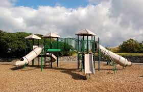 Backyard Playground Slides by Backyard Playground Best Ground Cover Options Guide Install It