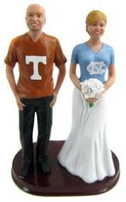 football wedding cake toppers football college and nlf wedding cake toppers