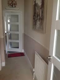 our quite dark hall but quite sick of beige walls