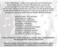 Music Chair Game Musical Chairs 2017 U2013 Durham Medical Orchestra