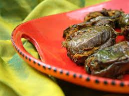 stuffed indian eggplant