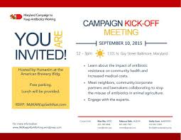 campaign kick off meeting details u2013 maryland campaign to keep