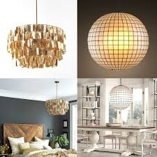decor and floor capiz shell chandelier with interior for your house decor