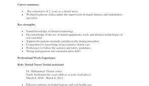 Cover Letter For Dental Nurse Resume Dental Assistant Resume Skills Amazing Dental Assistant