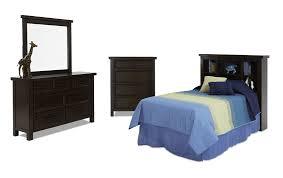bookcase bedroom set hudson youth 4 piece bookcase bedroom set bob s discount furniture