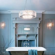 Crystal Light Fixtures Bathroom by Crystal Chandelier Safe For Bathroom Use In Zone 1 And 2 Ip44 Rated