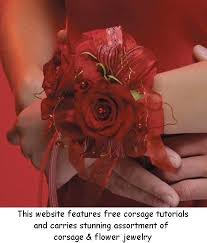wrist corsage supplies 37 best flower picks and corsages images on fabric