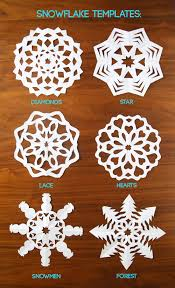 how to cut snowflakes video tutorial free templates it u0027s