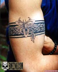 awesome celtic armband tattoo design for men tattoo viewer com