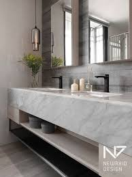 Modern Bathrooms Pinterest Wonderful Best 25 Modern Marble Bathroom Ideas On Pinterest Of