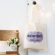 bridesmaid gift bag personalised bridesmaid gift bag by lou brown designs