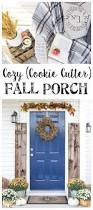 Fall Decorated Porches - cozy fall porch and a giveaway