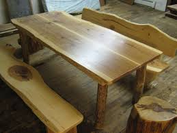 Farm Tables With Benches Hickory Dining Set Farm Table Benches Stools By Texpenn