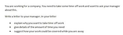 how to write an informal ielts letter