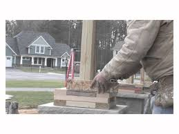 Craftsmen Style Barone U0026 Sons Creating Craftsman Columns Youtube