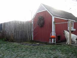 dog barn pet condo sheepy hollow farm