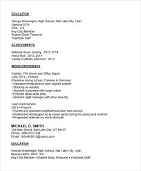 basic resume exles for highschool students sle resume carbon materialwitness co