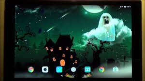 halloween live wallpaper for android phones and tablets youtube