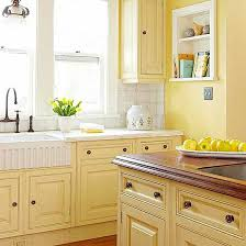 what color goes with yellow kitchen cabinets kitchen cabinet details that wow yellow kitchen walls