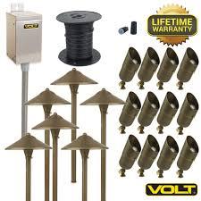 12 volt landscape lighting saving money on trunk cable runs in 12v