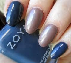 manicure monday zoya pasha preppy color combo ft zoya natty