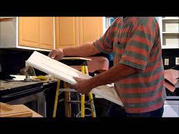 Laminate Cabinet Repair Save Your Cabinet Doors Youtube
