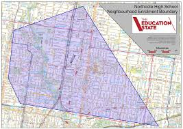 As The Crow Flies Map Years 8 12 Enrolment Procedure Northcote High