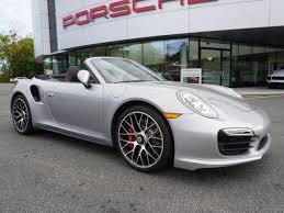porsche 911 turbo awd certified pre owned 2015 porsche 911 turbo convertible in pk1