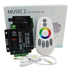 remote control led strip lights rgb led controller rf music audio control led strip light bfme in