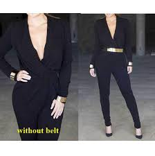 black jumpsuit womens best rompers womens jumpsuit 2015 black jumpsuits for
