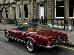 Car Upholstery Edinburgh Used Mercedes Benz 280 Convertible In Edinburgh City Of Edinburgh