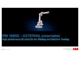 irb 1660id abb robotics pdf catalogue technical