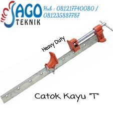 Catok Kayu jual catok t heavy duty catok kayu t 7feet hd jago teknik