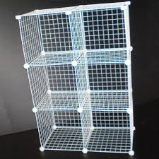Wire Shelf Units Grid Wire Modular Shelving And Storage Cubes Wire Shelving
