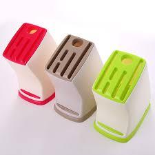 plastic kitchen knives buy top sale knife block multifunction shelving rack home storage